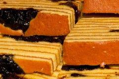 Gâteau de pruneau Image libre de droits