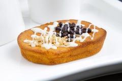 Gâteau de puces de Choco Images stock