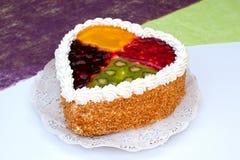 Gâteau de quatre saisons Image libre de droits