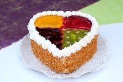 Gâteau de quatre saisons Photos libres de droits