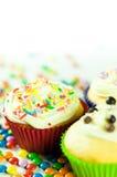 Gâteau de réception d'enfants Photo stock