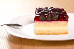 Gâteau de raisin Photos libres de droits