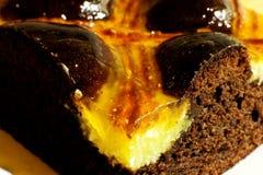 Gâteau de raisins secs Images stock
