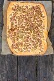 Gâteau de rhubarbe photo libre de droits