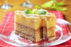Gâteau de rhum Images stock