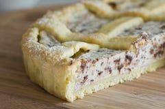 Gâteau de Ricotta. Images stock