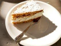 Gâteau de Ricotta et de poire photos libres de droits