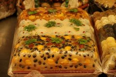Gâteau de riz images stock