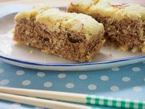 Gâteau de riz coréen de nourriture photographie stock libre de droits