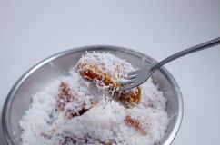 Gâteau de riz de Santan Photographie stock libre de droits