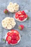 Gâteau de riz de fruit Images stock