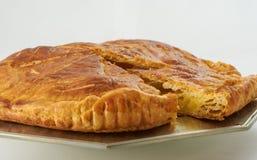 Gâteau de roi photographie stock libre de droits
