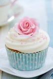 Gâteau de Rose Photos libres de droits