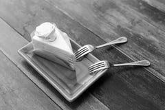 Gâteau de rose de Valentine Photos libres de droits