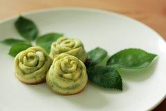 Gâteau de Rose Madeleine photographie stock