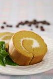 Gâteau de roulis Photo stock