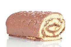 Gâteau de roulis Photo libre de droits