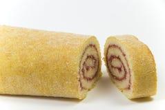 Gâteau de roulis de Wiss approprié à un pudding Photographie stock libre de droits