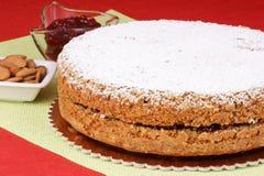 Gâteau de sarrasin Photographie stock libre de droits