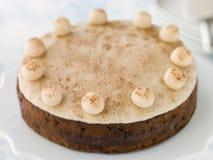 Gâteau de Simnel photo stock