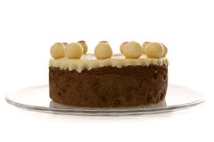 Gâteau de Simnel Photo stock