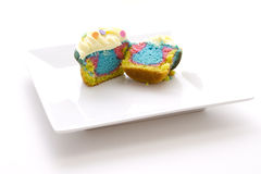 Gâteau de teinture de relation étroite Images stock