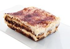 Gâteau de tiramisu Image libre de droits