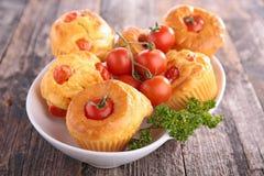 Gâteau de tomate Photographie stock