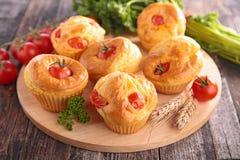 Gâteau de tomate Image stock