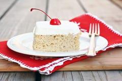 Gâteau de Tres Leches photos stock