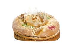 Gâteau de trois rois Image stock
