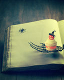 Gâteau de Veille de la toussaint Photo stock
