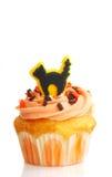 Gâteau de Veille de la toussaint avec le givrage photo stock