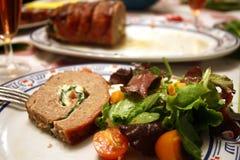 Gâteau de viande Photographie stock libre de droits