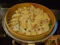 Gâteau de Vietnamien avec l'arachide Photographie stock