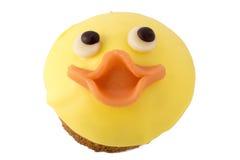 Gâteau de visage de poulet pour Pâques Images libres de droits