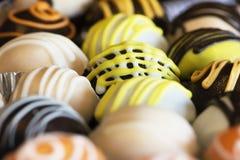 Gâteau doux de boules Photographie stock libre de droits