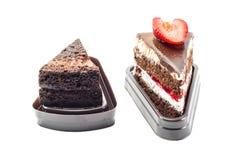 Gâteau doux de dessert Images libres de droits