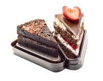 Gâteau doux de dessert Photo libre de droits