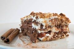 Gâteau doux de yaourt Photographie stock
