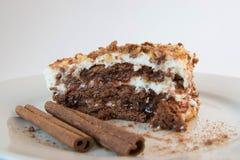 Gâteau doux de yaourt Photographie stock libre de droits