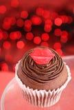 Gâteau du jour de Valentine images stock