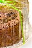 Gâteau emballé photos stock