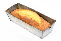Gâteau en étain photographie stock libre de droits