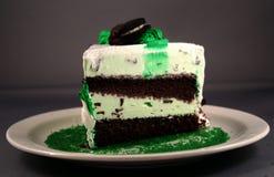 Gâteau en bon état Images libres de droits