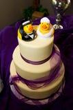 Gâteau en caoutchouc de canard Photographie stock