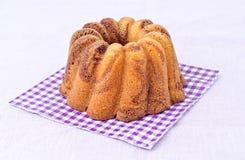 Gâteau entier Photographie stock