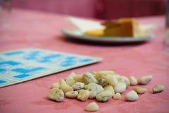 Gâteau et bingo-test photos libres de droits