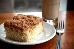Gâteau et café Images stock