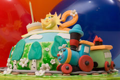 Gâteau féerique Photographie stock
